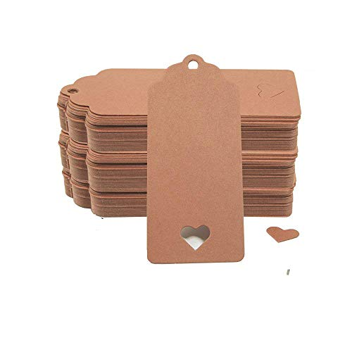 Etiquetas para Regalos Cartón Marca MOAMUN