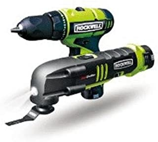 Rockwell Rk1002k2 Combo Kit With Drill Sonicrafter -12 Volt