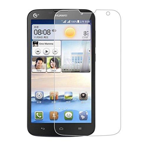 Funnytech_ - Cristal templado para Huawei Ascend G730. Protector de pantalla transparente para Huawei Ascend G730. Vidrio templado antigolpes (Grosor 0,3mm) – Kit de instalación incluido