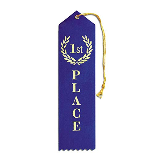 Set of 50 1st Place Ribbons - Carded