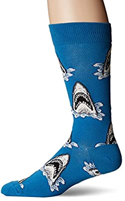 Socksmith Mens Shark Attack