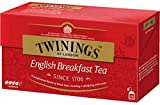 Twinings Tè Classici - English Breakfast - Tradizionale Miscela Tè Neri dal Gusto Forte e Deciso - Tè Prima Colazione per Eccellenza, si apprezza in qualsiasi momento della giornata (100 Bustine)