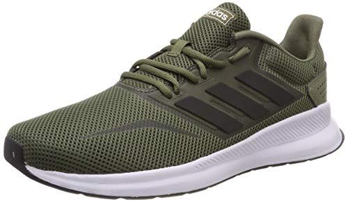 adidas Runfalcon, Zapatillas de Running para Hombre, Verde (Raw Khaki/ Core Black/ Ftwr White), 40 2/3 EU