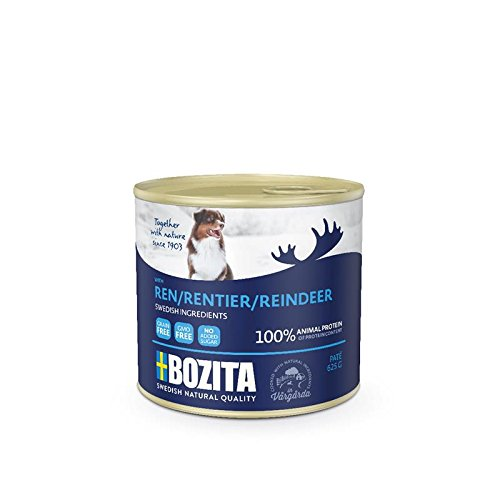 Bozita Dog Pate Rentier | 12x 625g Hundenassfutter