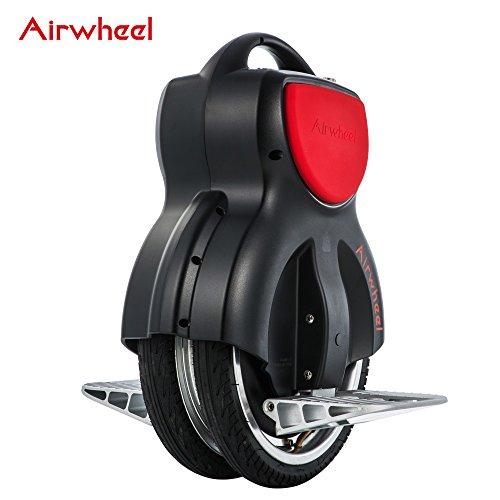 Airwheel - Patín monorrueda eléctrico Q1, se equilibra Solo, Hombre, Q1B170, Negro,...