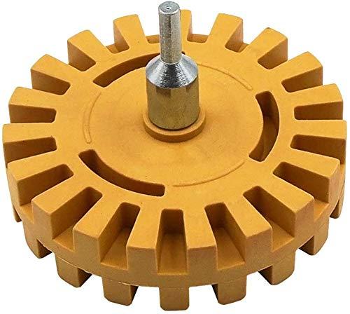 Hvoz Wheel Car Boor Adapter, Pneumatisch Ontvetten Wiel Rubber Slijpen Tire Polijsten Wiel Tool