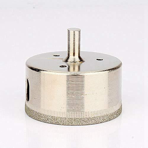 Bit de broca de vidrio, herramienta de calidad de acero inoxidable de sierras de acero inoxidable (plata)