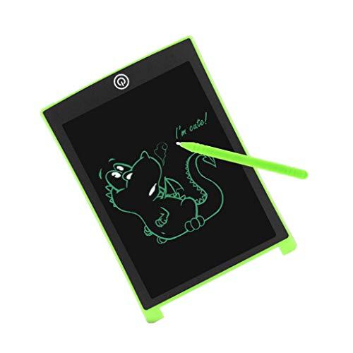 MANjia96COco LCD Schreibtafel, 8.5 Zoll Bunte Writing Tablet Drawing Board Grafiktabletts Schreibplatte Stift Papierlos für Schreiben Malen Notizen Super als Geschenk,Kinder Spielzeug