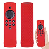 Funda protectora compatible con Fire TV Stick Lite, mando a distancia, mando a distancia para Amazon Fire TV Stick Lite (rojo)