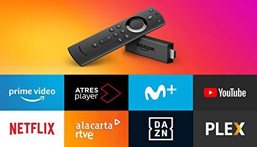 Amazon Fire TV Stick reacondicionado certificado con mando por voz Alexa | Reproductor de contenido multimedia en streaming