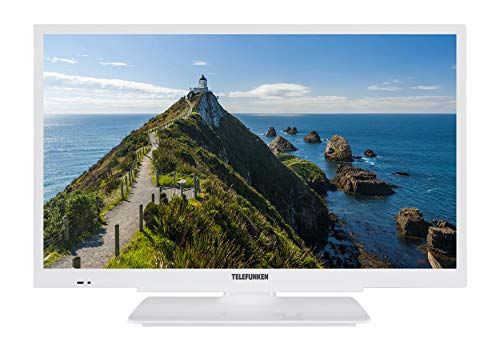 Telefunken XH24G101-W 61 cm (24 Zoll) Fernseher (HD ready, Triple Tuner)