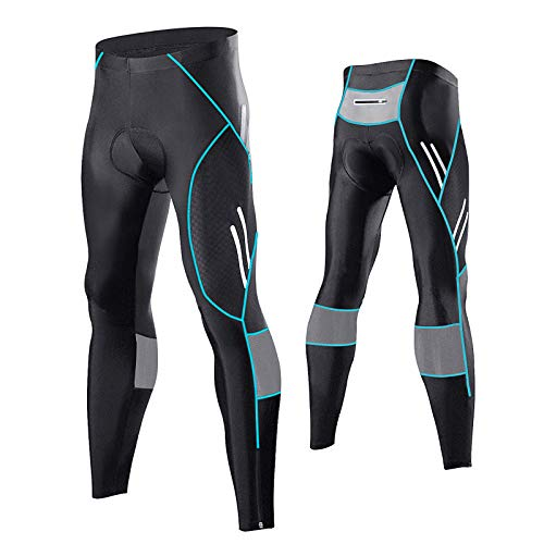 MEETWEE Cyclisme Pantalons Homme, Respirant 3D Gel...