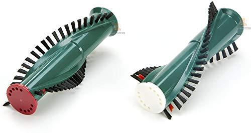 DREHFLEX - für Vorwerk - Rundbürstenpaar/Ersatzbürsten/Bürsten/Bürstenrollen für Vorwerk Kobold ET340 EB350 EB351-2 Stück