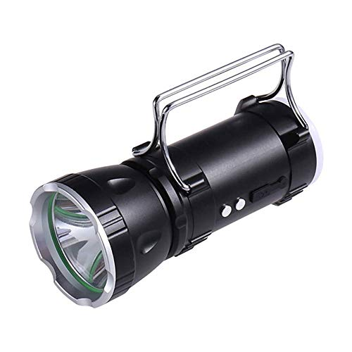 ZOUJIARUI Linterna portátil de LED Linterna portátil, Flashes de Mano de Engranajes de Campamento Luces de Camping 2 en 1 para Caminatas, Camping, emergencias, Huracanes, interrupciones