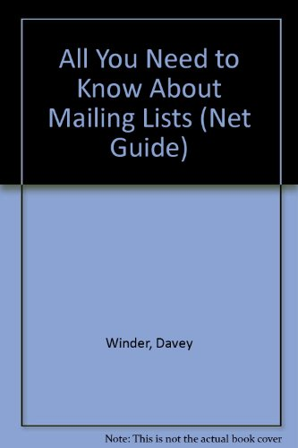 "All You Need to Know About Mailing Lists ("".net"" Guide)"