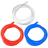 Fuel Line Hose Tube, Petrol Gas Pipe Hose, Oil Hose Diesel Replacement Hose for Motorcycle Chainsaw Blower Outdoor(2m)