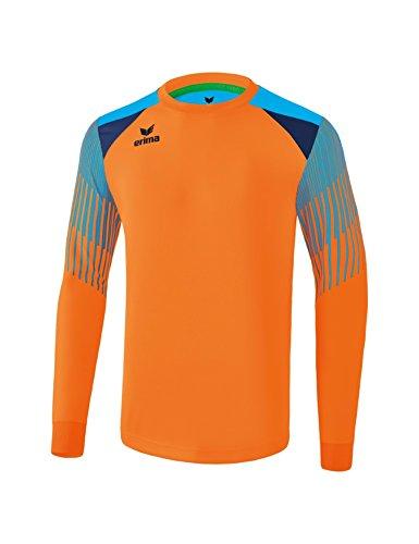 Erima Kinder Fußball Torwarttrikot Elemental, neon orange/Cur, 140