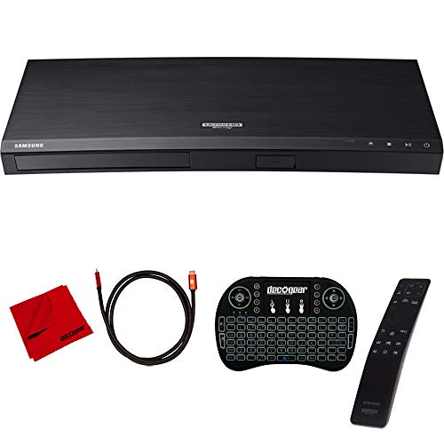 Samsung UBD-M8500 4K Ultra HD Smart Blu-ray Player with Accessories Bundle