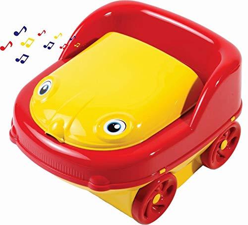 Troninho, Styll Baby, Amarelo/Vermelho