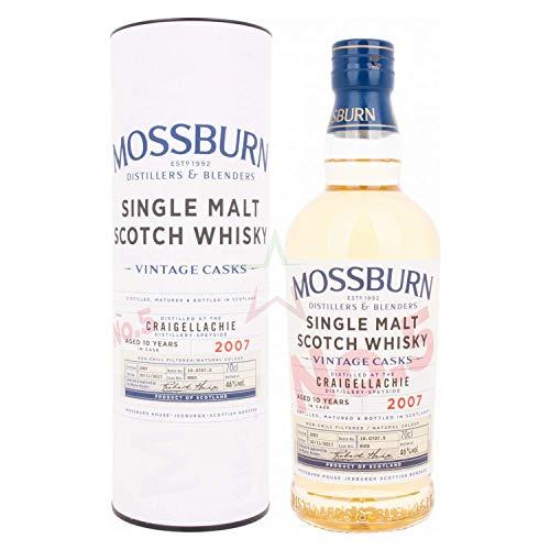Mossburn CRAIGELLACHIE 10 Years Old Vintage Casks Single Malt Scotch Whisky 2007 46,00% 0,70 lt.