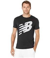 New Balance Graphic Heather Tech SS tee Camiseta para Hombre
