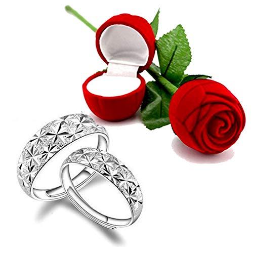 Access-O-Risingg Non Precious Metal Ring for Women (Ring033, Silver)