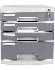 Gabinete de Archivos Cajón clasificador-4 capas de archivos de datos con cerradura del gabinete del gabinete de escritorio multi-capa de cajones archivos de Almacenamiento de Oficina Para Almacenamien