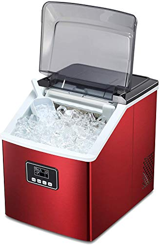 Antarctic Star Ice Maker Machine Countertop,Portable Automatic 9 Ice Cubes Ready in 8 Minutes,Makes 26 lbs of Ice per 24…