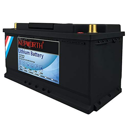 36V 40Ah LiFePO4 Batería de litio, hierro, fosfato, ciclo profundo con BMS para caravanas, caravanas, carros de golf marinos, energía de emergencia, funcionamiento en serie o paralelo