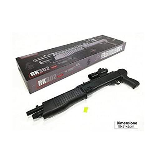 General trade fucile rk302 con laser e accessori aggiunti nero fucile da guerra bambino