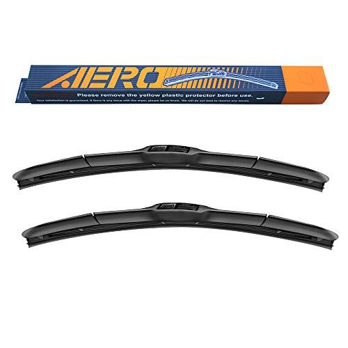 "AERO Hybrid 22"" + 21"" Premium Quality All-Season Windshield Wiper Blades (Set of 2)"