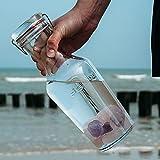 Premium Edelstein Basis-Mischung   100% Natursteine   Wassersteine-Set Grundmischung: Rosenquarz, Amethyst, Bergkristall - 6
