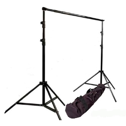 CowboyStudio Photography 10 ft Heavy Duty Crossbar Studio Portable Background Support System and Carry Case - 901