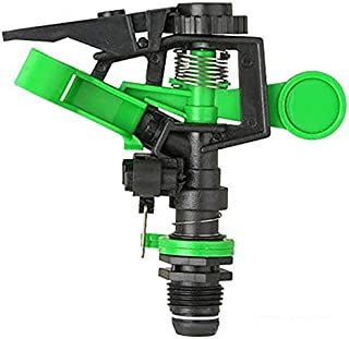 ODIN-Garden Sprinklers - 360 degrees Automatic Rotating Irrigation Sprinklers and Bracket Connector for Agriculture Drip G...