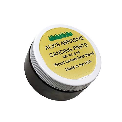 Ack's Abrasive Sanding Paste Schleifpaste zum Drechseln 8 OZ/227g