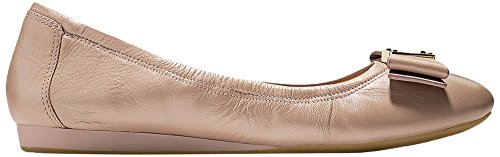 Cole Haan Women's Tali Bow Ballet Flat, Maple Sugar Leather, 5 B US