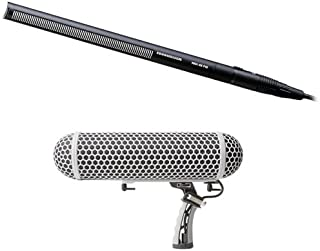 Sennheiser MKH 416-P48 Short Shotgun Mic and Marantz Professional Blimp-Style Microphone Windscreen & Shock Mount