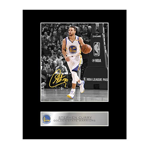 Stephen curry, con autografo Golden state Warriors