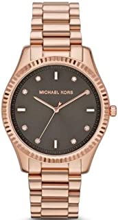 Michael Kors Blake Watch for Women - Analog Stainless Steel Band - MK3227