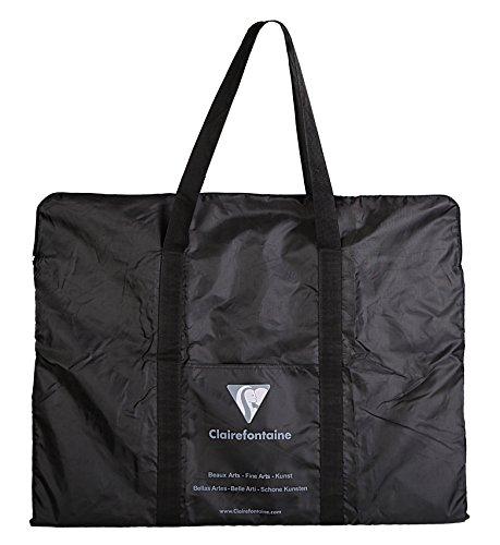 Clairefontaine 90171C - Un Portfolio (housse pour carton à dessin), 40x55 cm, Noir