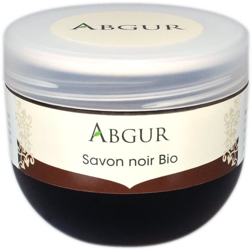 Schwarze Seife für natürliches Hammam und Peeling, Savon noir, natur, 200g