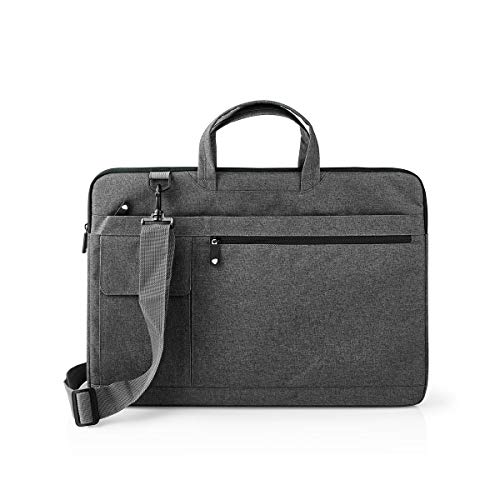 TronicXL Premium Laptoptasche Laptop Notebook Tasche Hülle 17 17,2 17,4 18 Zoll zb kompatibel mit Alienware Dell HP Lenovo Acer Asus Medion Apple MacBook Razr Microsoft Surface MSI Anthrazit