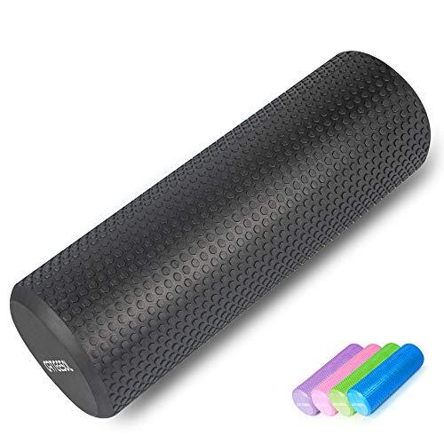 arteesol Standard Faszienrolle, Fitness Faszienrollen Runde Massagerolle 30/45/60/90cm × 15cm Schaumstoffrolle für Trainning Selbstmassage Pilates Stretching Balance