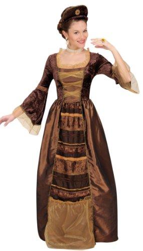 Desconocido Disfraz de baronesa medieval para mujer