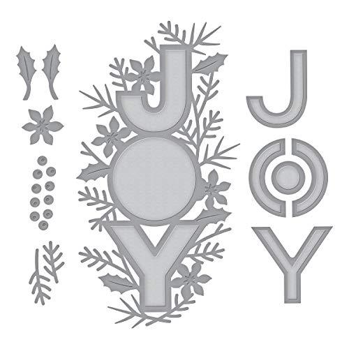 Spellbinders Joy Shapeabilities - Juego de troqueles (metal, 6,6 x 12,3 cm)