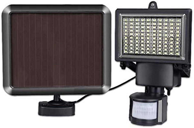 YANKAN Solar Wandleuchte 100Led Licht Solar Wasserdichte Hof im Freien Licht Scheinwerfer, Menschliche Krper Lnduktion, Lichtsteuerung