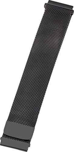 Preisvergleich Produktbild PETER JÄCKEL Armband 22mm Milanaise Black