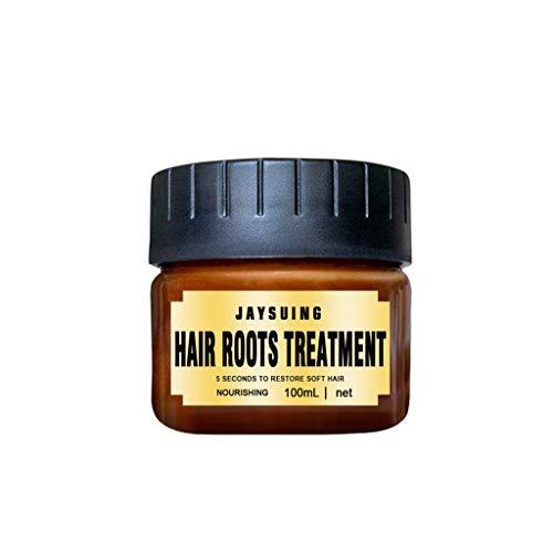 Hair Repair Mask Haarpflege Spülungen, Weiches Haarpflegemittel Conditioner Naturfriseur MäDchen Glattes Haar Langes Spa Wartung Haare Wurzeln Behandlung Wiederherstellung 100ml