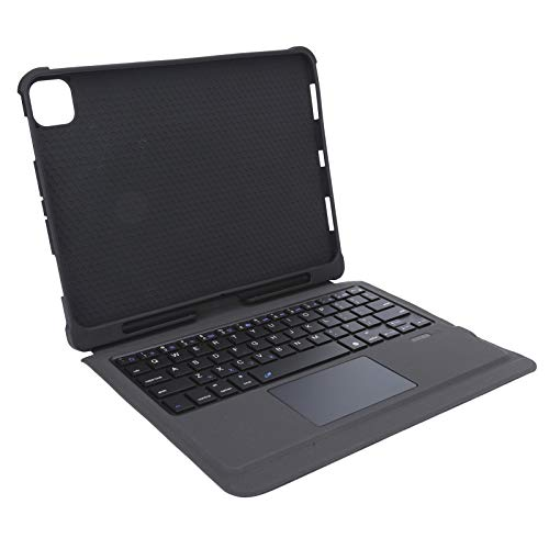 S erounder Detachable Magnetic Keyboard Case Adjustment Angle Keyboard Cover with Touchpad and Pen Slot for Pro 11 Inch Tablet (2018-2020)