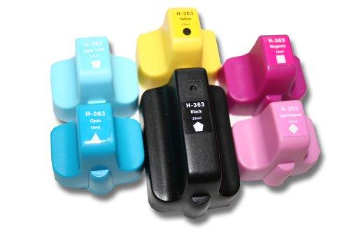 HP Set 6 Druckerpatronen kompatibel zu HP 363-Serie